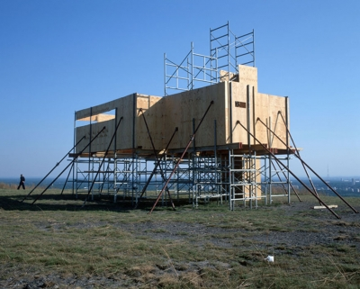 Point de vue, Installation on the mine terril of Winterslag, Genk